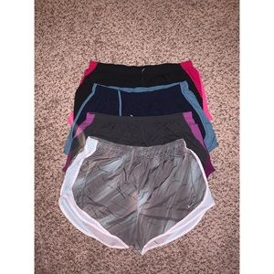 [BUNDLE] 4 Nike Dri-Fit Running Shorts